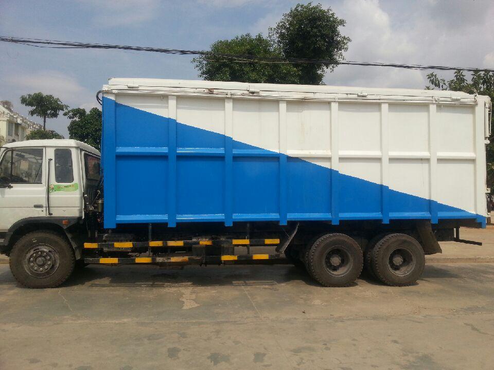集装箱垃圾运输车